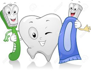 11330171-Illustration-of-Dental-Products-Hanging-Together-Stock-Illustration-teeth-cartoon-tooth